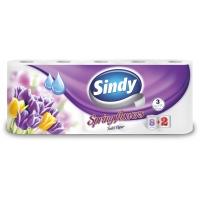 Sindy Spring Flowers 8+2 tekercses 3 rétegű